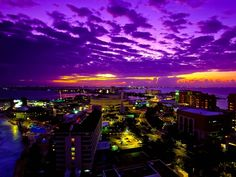 Twilight time ~ Cancun, Mexico