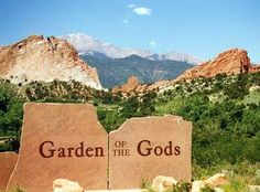Colorado Springs, Co. - love Garden of the Gods.
