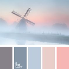 Color palette soft.