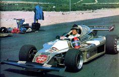 Hans Heyer - Toj F201 BMW - Team Warsteiner Eurorace - 1976 winter tests - Track unknown