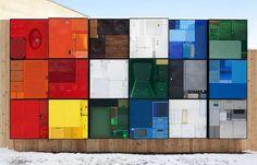 Real-Life Tetris Sculptures by Michael Johansson.