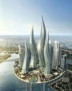 Dynamic Tower, Dubai, UAE - Facts Pod