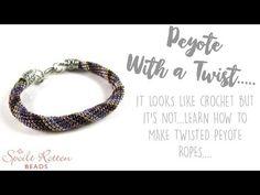Öğretici Video-Verev Dönen Peyote ile Desenli Bileklik(New Bracelet Pattern/Peyote with a Twist) - YouTube