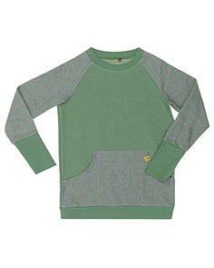 Super cool AlbaBabY sweatshirt AlbaBabY Overdele til Børnetøj i behagelige materialer