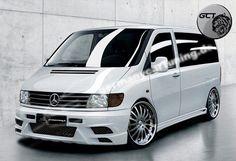 Mercedes V-Class Vito - not a VW, but i love the look. Mercedes Benz Vito, Mercedes Cls, Mercedes Gle Coupe, Mercedes Vito Camper, Autos Mercedes, Bmw Autos, Audi Rs6, Audi A4 B5, Chevrolet Corvette