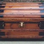 Vintage Trunk with Secret Storage
