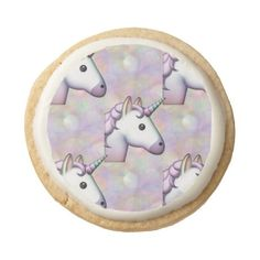 hologram unicorn emoji cookies (£24) ❤ liked on Polyvore featuring holograph