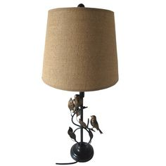 """Santa's Workshop 28"""" H Table Lamp with Drum Shade"""