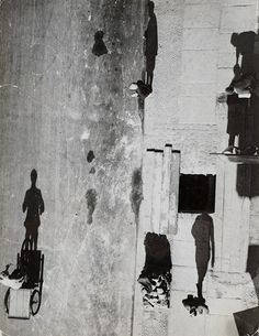 Shadows:  unheimliche straße (eerie street), 1928  photo by umbo (otto umbehr)