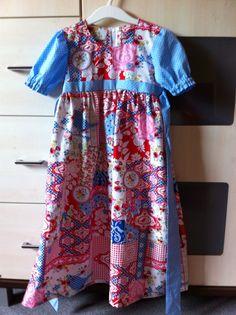 Ein Hochzeitskleid als Herausforderung - ich finde das Ergebnis kann sich sehen lassen!