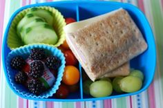 Healthy packed lunch for back-to-school #PaperMateBTS