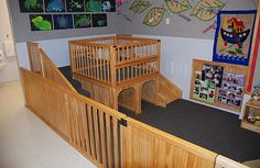 Infant Enclosure   Naturally Wood by Design. Child Care Furniture ...