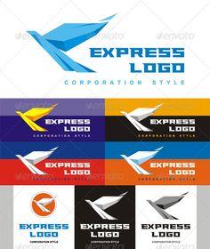 Express Logo — Vector EPS #logo #logos • Available here → https://graphicriver.net/item/express-logo/2207975?ref=pxcr