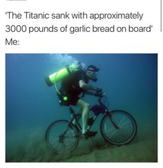 I mean, Titanic was sad. year mark of its sinking, and Titanic is quickly being eaten by certain barnacles. Pretty soon, the only thing we will have left of that magnificent ship are stories. Titanic, Funny Memes, Jokes, Funny Qoutes, Funniest Memes, Memes Humor, Sad Quotes, Wine Quotes, In Vino Veritas