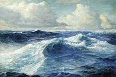 marine oil paintings: April 2010