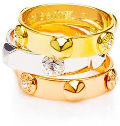 #henribendel.com          #ring                     #PLAZA #STACK #RING       THE PLAZA STACK RING                                http://www.seapai.com/product.aspx?PID=1296731