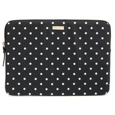 Women's Kate Spade New York Classic Nylon - Mini Pavilion 13-Inch... (£56) ❤ liked on Polyvore featuring accessories, tech accessories, laptop sleeve cases, mini laptop case, kate spade laptop case, macbook laptop case and kate spade