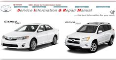 141 best toyota repair service manuals images on pinterest repair rh pinterest com Toyota Camry Electrical Wiring Diagram 1997 Toyota Camry Manual