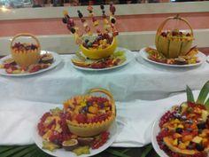 Decorazioni Buffet Ferragosto : Buffet decorazioni frutta frutta e decorazioni