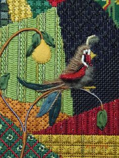 Kelly Clark Needlepoint Handbook: Kelly's Christmas Crazy Quilt!