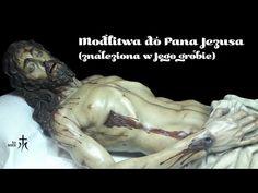 Modlitwa do Pana Jezusa znaleziona w Jego grobie. - YouTube Religion, Statue, Youtube, Youtubers, Sculptures, Youtube Movies, Sculpture