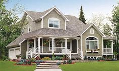 40 Fabulous Front Porches | The Blissful Bee
