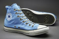 Converse Chuck Taylor All Star Washed Twill  Stamp Hi - Blue