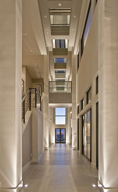 Calico Hills Hallway, Las Vegas Home by Quardt...
