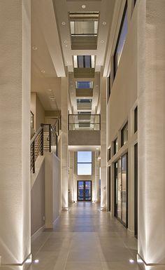 Calico Hills Hallway, Las Vegas Home by Quardt...