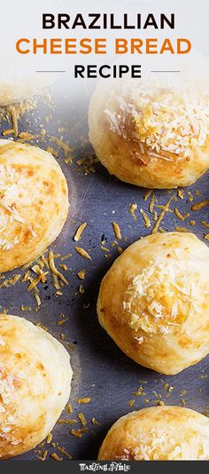This Brazilian cousin to the gougère is cheesy, soft and completely gluten free…