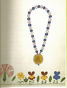 Beads on one string: Shaker Spirit Drawing (c. 1850)
