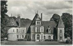 """Frankreich - CPSM FRANCE 61 """"La Madeleine Bouvet, Chateau de Saussay"""""""