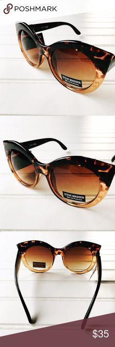 Steve Madden Cat Eye Sunglasses NWT Steve Madden Cat Eye Sunglasses.  No case.  100% UV Protection Steve Madden Accessories Sunglasses