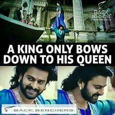 One of my favourite scene True Love Quotes, Best Love Quotes, Bahubali Quotes, Prabhas Actor, Prabhas And Anushka, Bollywood Funny, Prabhas Pics, Broken Heart Quotes, Happy Reading