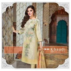 Khaadi Pret Latest Eid Dresses Collection 2016 Full Catalog