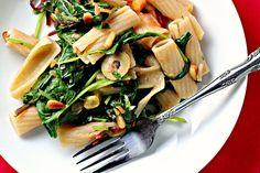 Pasta Salad in Lemon-Basil Pesto with Grilled Chicken | Pesto, Pasta ...