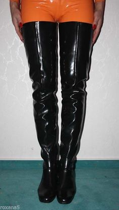 Mens High Boots, Thigh High Boots Flat, Long Boots, Latex Boots, Rain Boots, Shoe Boots, Crotch Boots, Botas Sexy, Fashion Boots