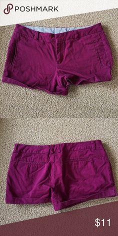 Cute purple shorts from JCP! Cute bright purple shorts from JC Penny. Size 10. jcpenney Shorts