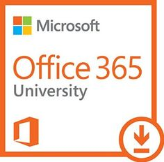 Microsoft Office 365 University 4 Year | PC or Mac Download, 2016 Amazon Top Rated Business & Office  #Software