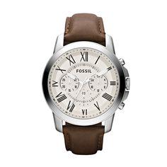 Sehr eleganter Chronograph von Fossil. Ein schönes Geschenk für Geburtstage und alle Anlässe des Feierns. So lassen Sie Ihre Fossil-Uhr FS4735 gravieren. mehrzeilig mit Logo im Bogen seitlich Bestellen Sie jetzt die Fossil FS4735 mit persönlicher Gravur.