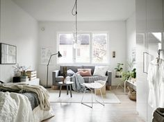 Wonen in een studio: 5 handige tips voor een goede indeling - Roomed