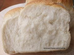 Vivian Pang Kitchen: Loaf Bread/ Water Roux Method