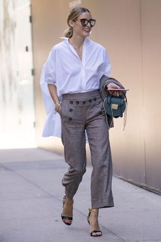 Olivia Palermo | Coast's favourite New York Fashion Week 2016 street style looks | Photography by Tim Regas @wheresmydriver