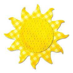 Sizzix Parlayan Güneş Kalıbı