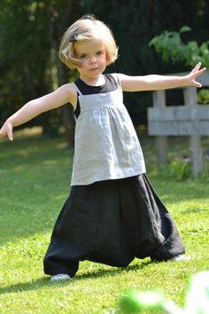Sarouel ANKAA, Grains de Couture pour Enfants, Ivanne Soufflet, by Little Merveille