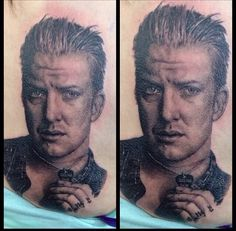 Tattoos by bob tyrrell tattoos by bob tyrrell pinterest for Josh homme tattoos