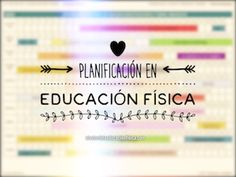 planifiación en educación física Physical Education, Tatoos, Physics, Math Equations, School, Health, Tips, Labor, Carrera