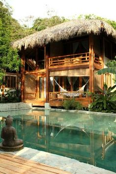 Pranamar Villas and Yoga Retreat. Definitely wanna do a yoga retreat with my girlios