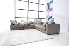 Sofa Modelo Manacor tela de Fama