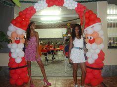 Arco Natal - Sanny Balloon